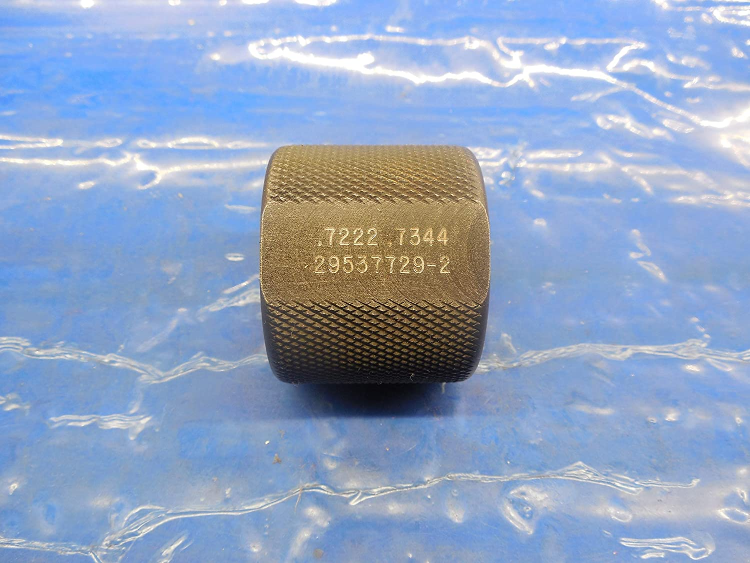 .7222 .7344 Carbide Stepped Plain BORE Ring GAGE .7188 Oversize 23/32 18.344 mm