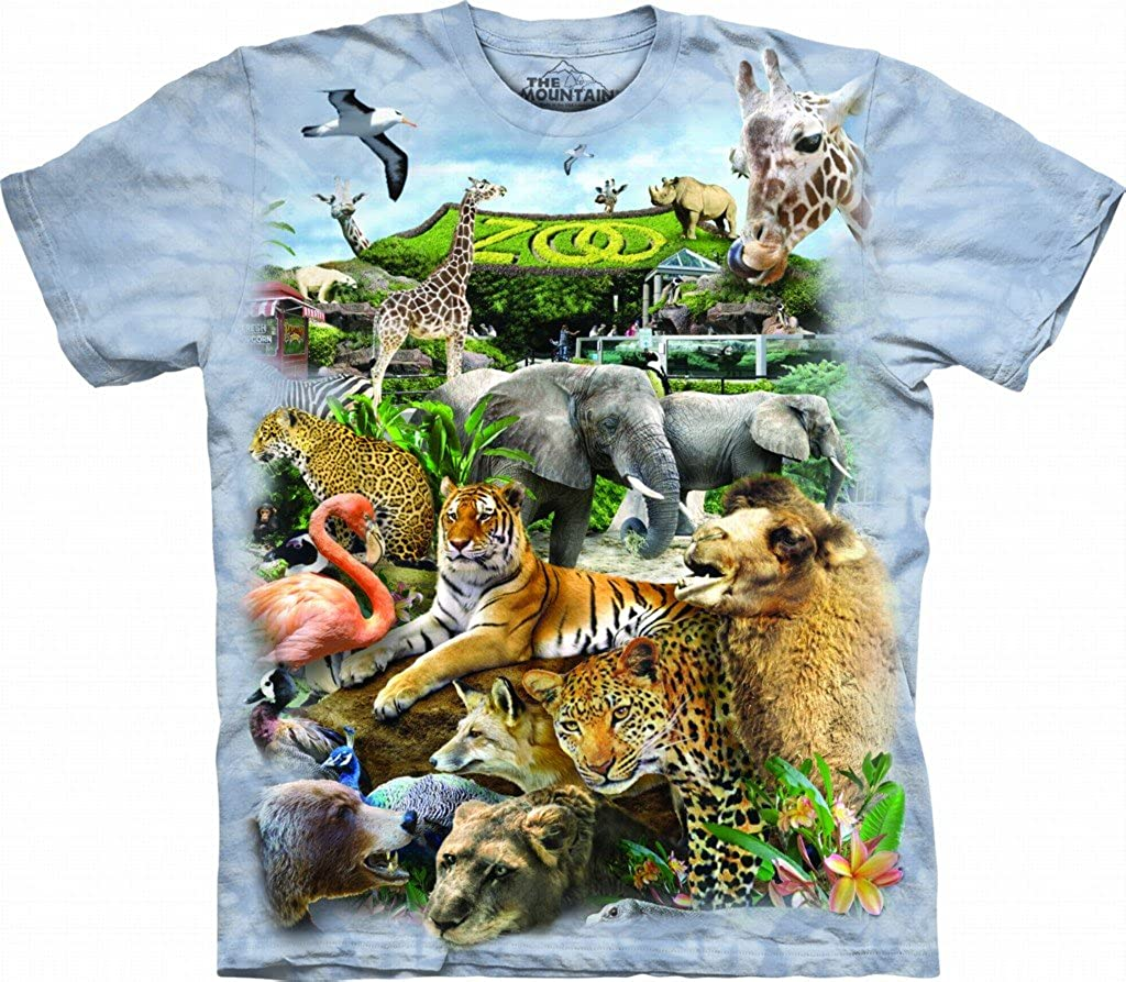 The Mountain Kids Zoo Puzzle T-Shirt
