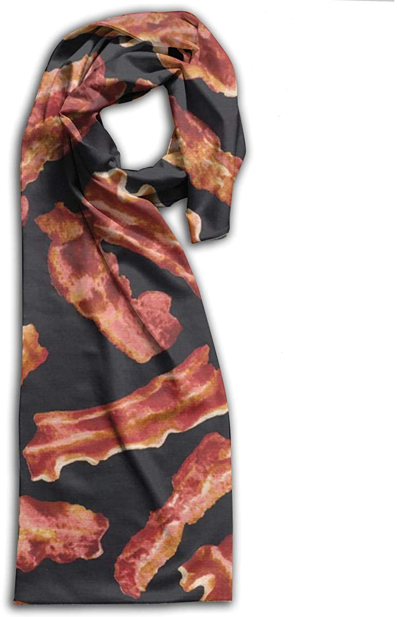 Adult Scarf,Bacon Wraps Beautiful Shawls Soft Scarves For Men And Women