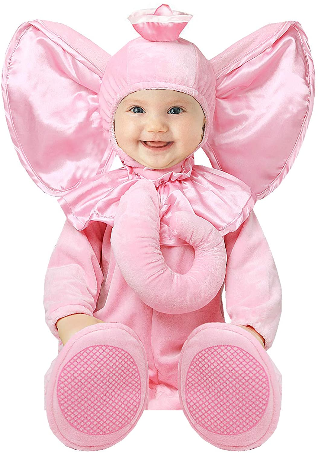 Toddler Baby Infant Girl Pink Elephant Halloween Dress Up Costume Outfit