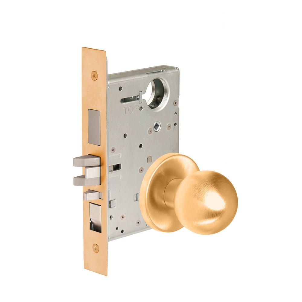 CORBINRUSSWIN ML2067-GRC-612-LC 612 Satin Bronze, Knob GRC Global, Apartment, Steel; Stainless Steel; Bronze