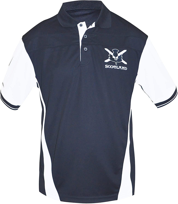 Croker Scottish Performance Shirt - Polyester Short Sleeve Polo Jersey