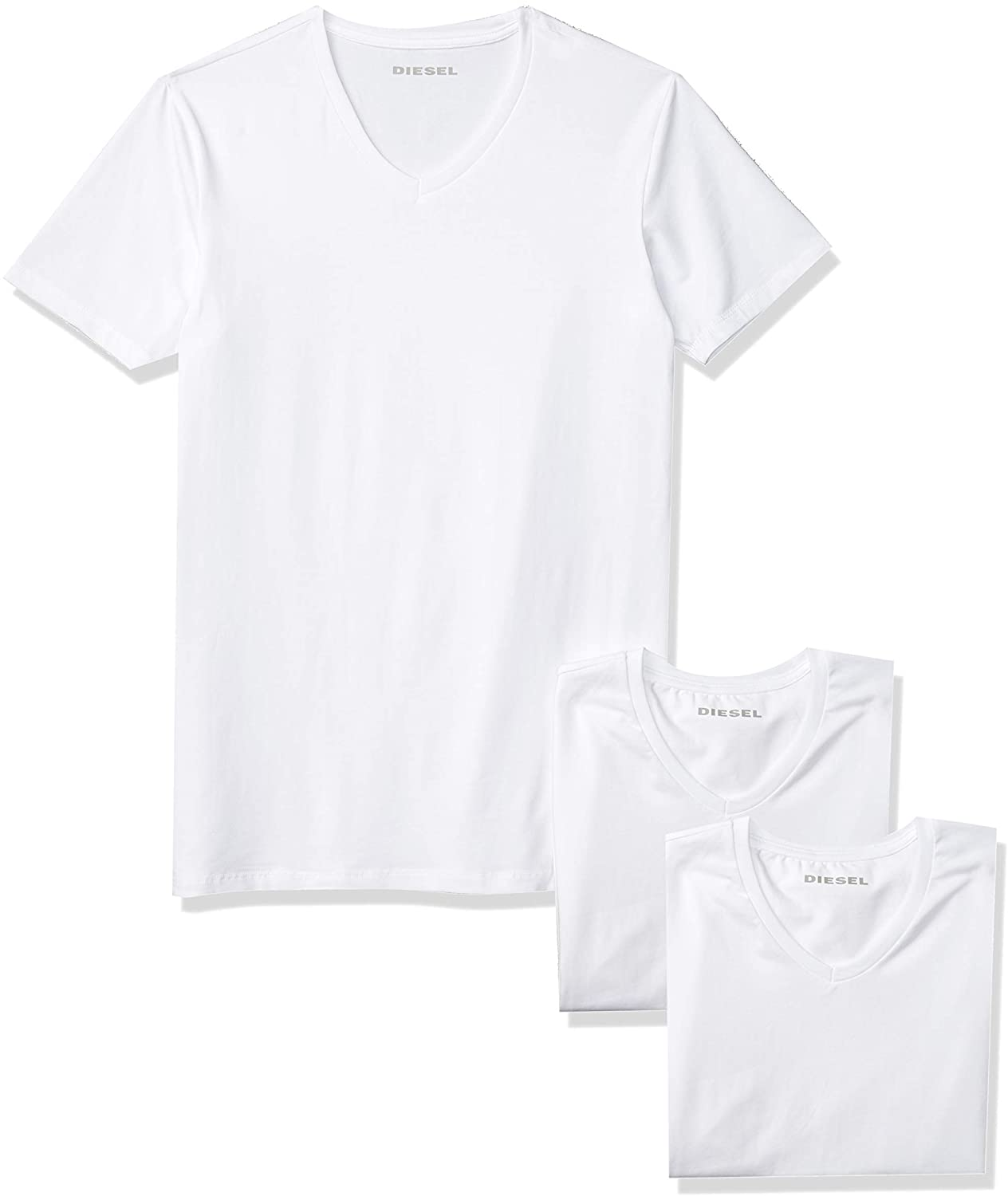 Diesel Men's Umtee-michael3pack T-Shirt