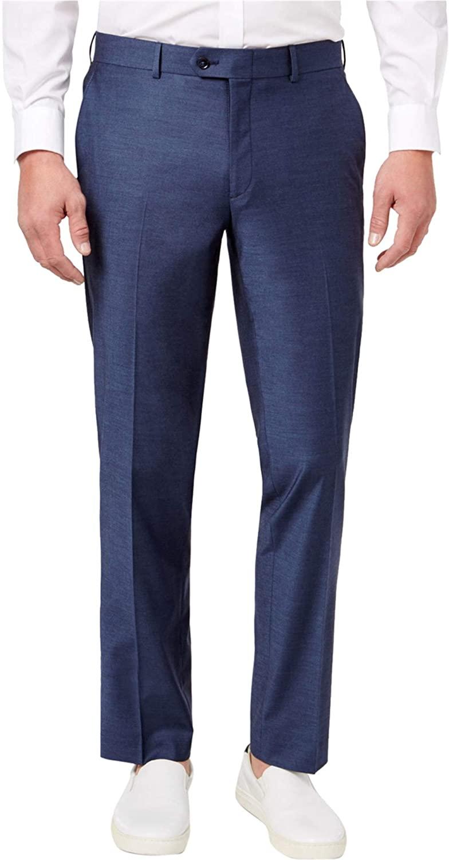 Bar III Mens Wrinkle-Resistant Dress Pants Slacks