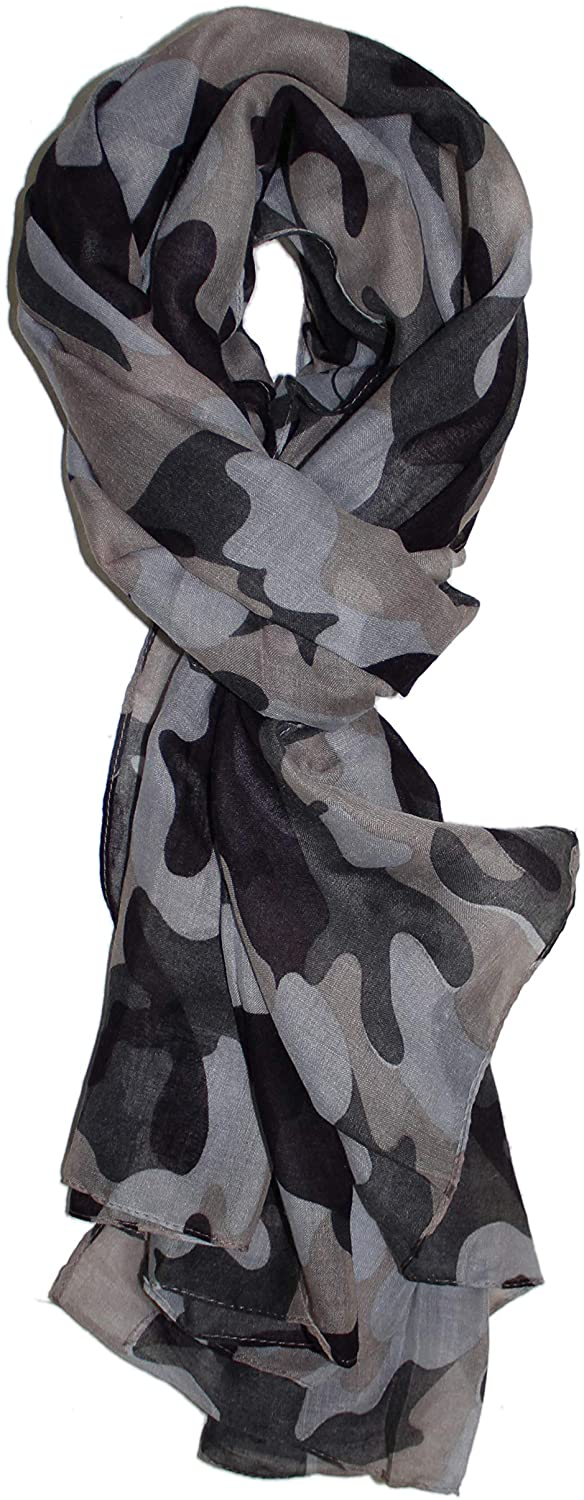 Ted & Jack - Lightweight Camouflage Print Scarf