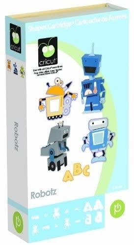Cricut Cartridge, Robotz by Provo Craft & Novelty/ Cricut