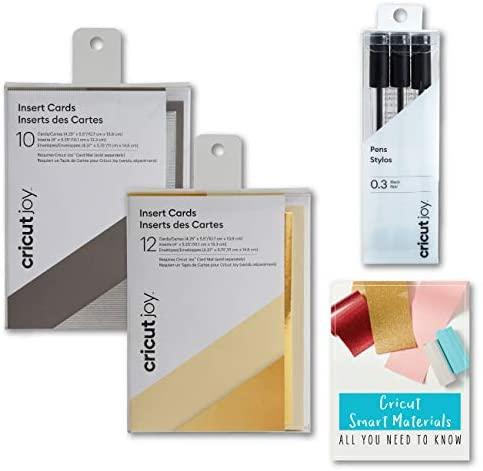 Cricut Joy Machine Card Samplers and Pen Bundles (Silver and Gold)