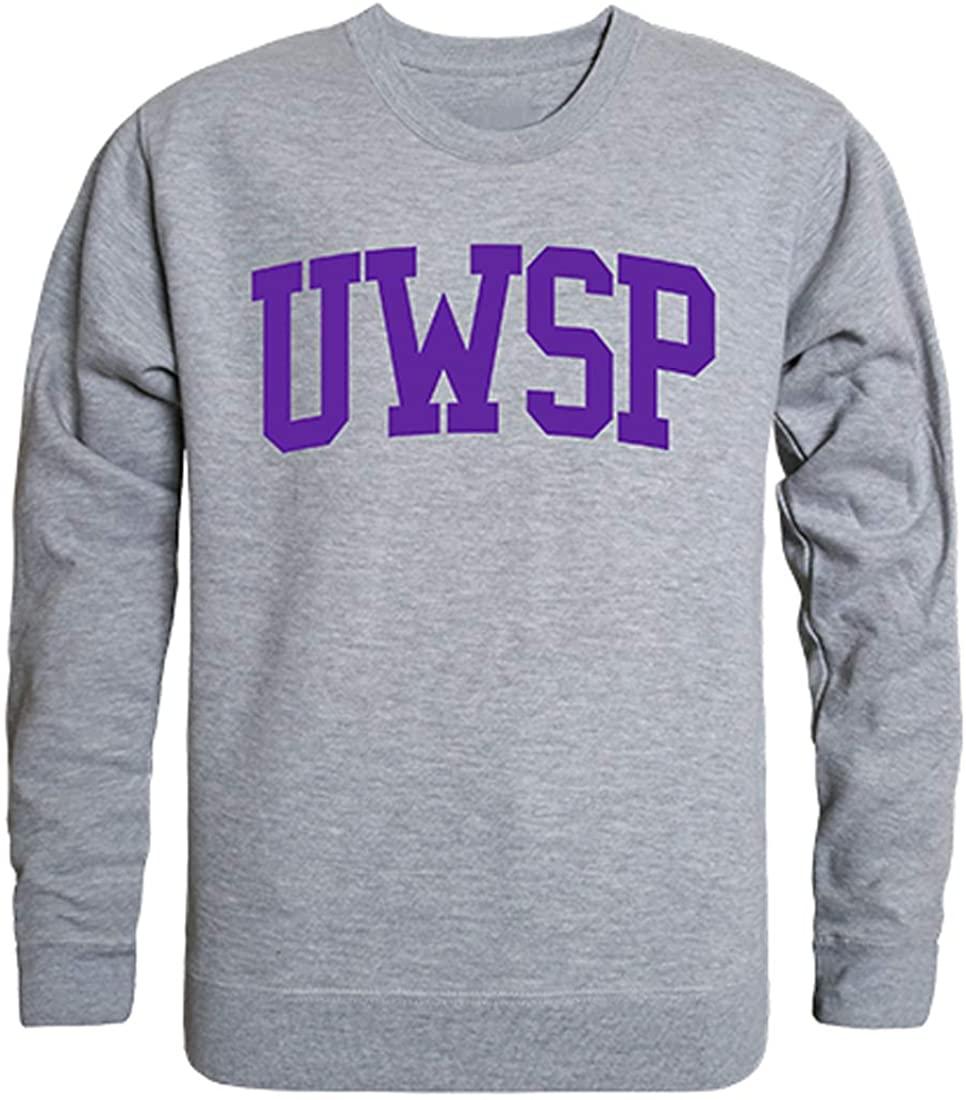 W Republic UWSP Wisconsin-Stevens Point Pointers NCAA Men's Game Day Crewneck Fleece Sweatshirt