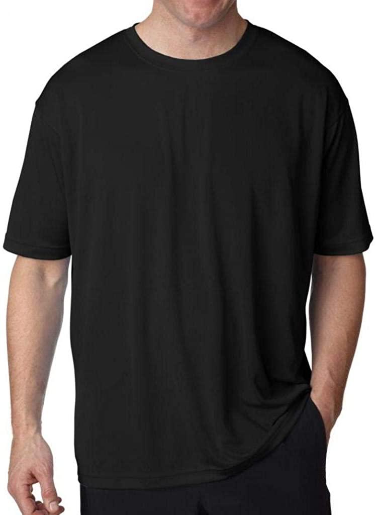UltraClub Big Men's Cool-n-Dry Performance T-Shirt