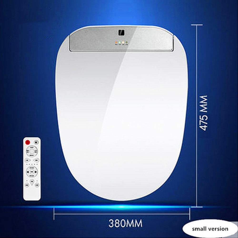 Smart Toilet seats cover with Electronic Bidets,AC220V Instant hot automatic home remote control toilet seats lid small version
