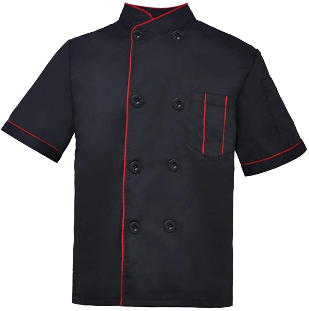 TOPTIE Kid's Chef Coat for Cook Uniform Halloween Costume