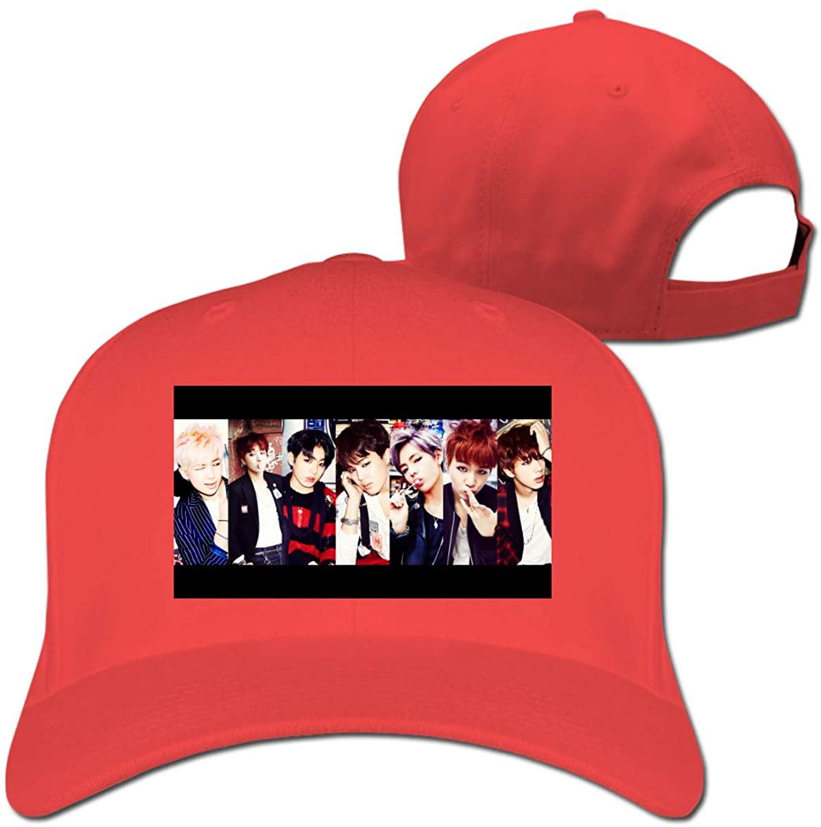 Kpop BTS Casquette Hip Hop Hat Outdoor Baseball Cap Classic Adjustable Unisex