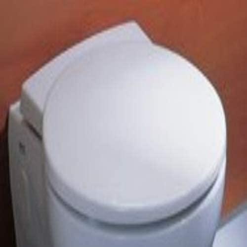 Keramag WC Sitz passt nur zu Joly 571010 weiß(alpin), mit, Deckel, DIN 19516, Scharniere Edelstahl 571010000