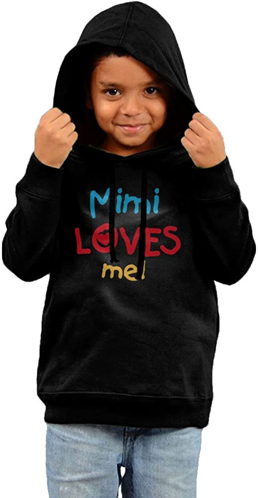 Toddler Mimi Loves Me and Gifts Hooded Sweatshirt