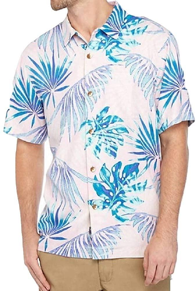 Tommy Bahama Portofino Palms IslandZone Camp Shirt