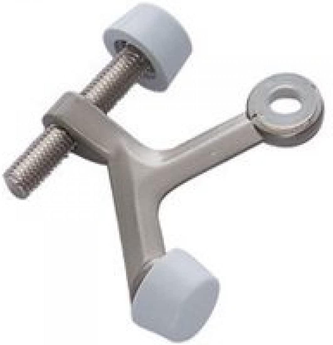 Mintcraft 20-B023 Hinge Pin Doorstop, Satin Nickel