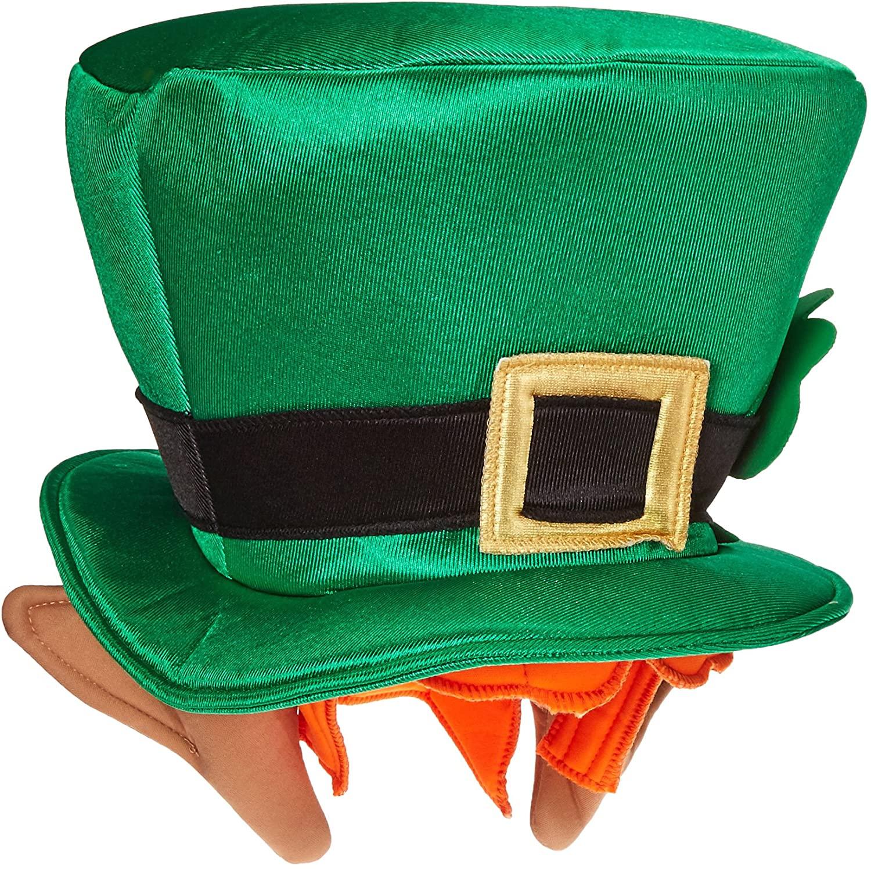 Rasta Imposta Leprechaun Top Hat With Ears