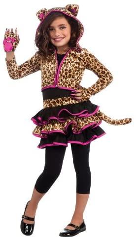 Drama Queens Leopard Hoodie Costume, Medium