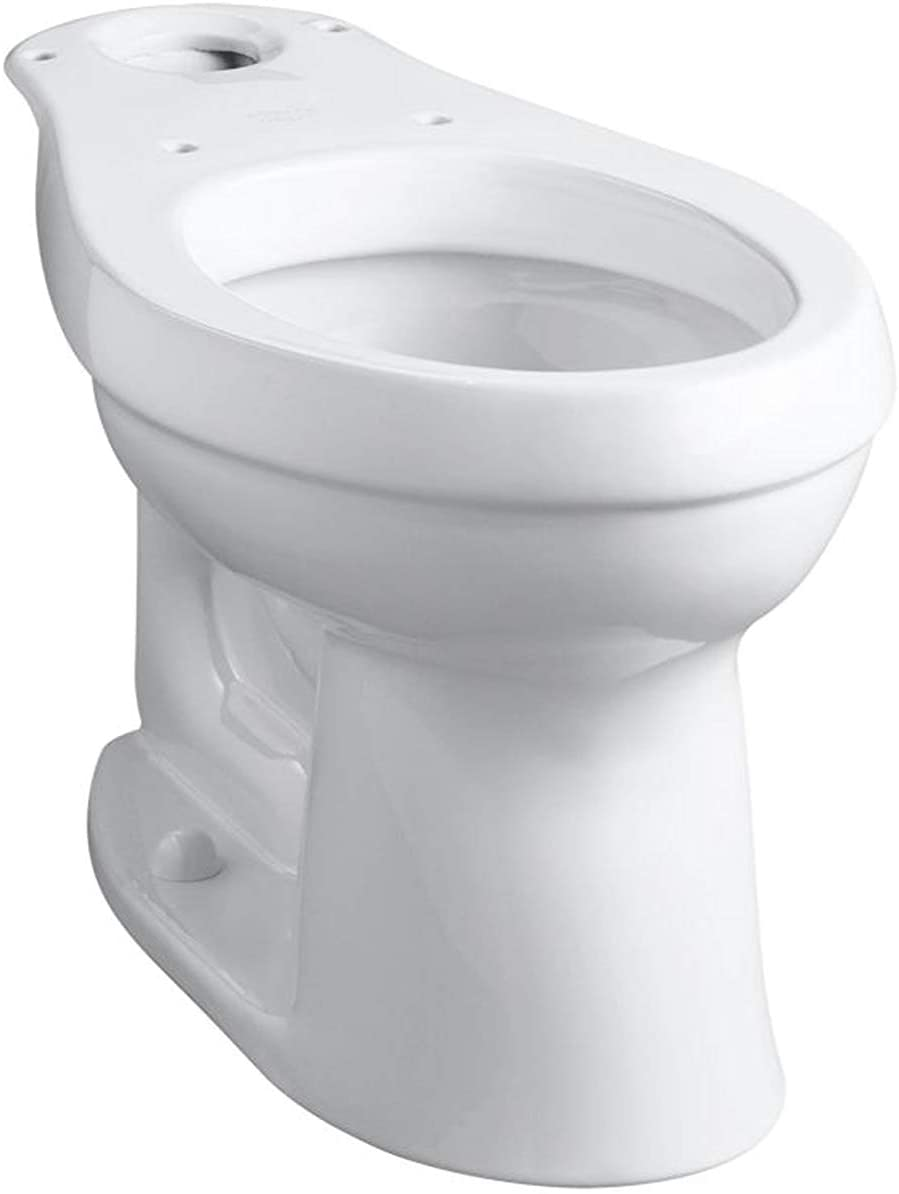 Kohler K-4309-0 Cimarron Comfort Height Elongated Toilet Bowl, White
