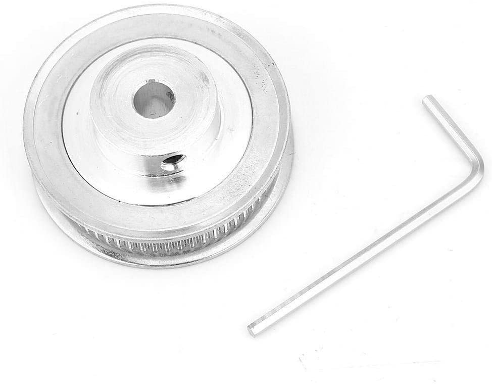 Maxmartt 2GT 60 Teeth Timing Pulley Bore 5/6.35/8/10/12mm for 6mm Wide Timing Belt(10mm)