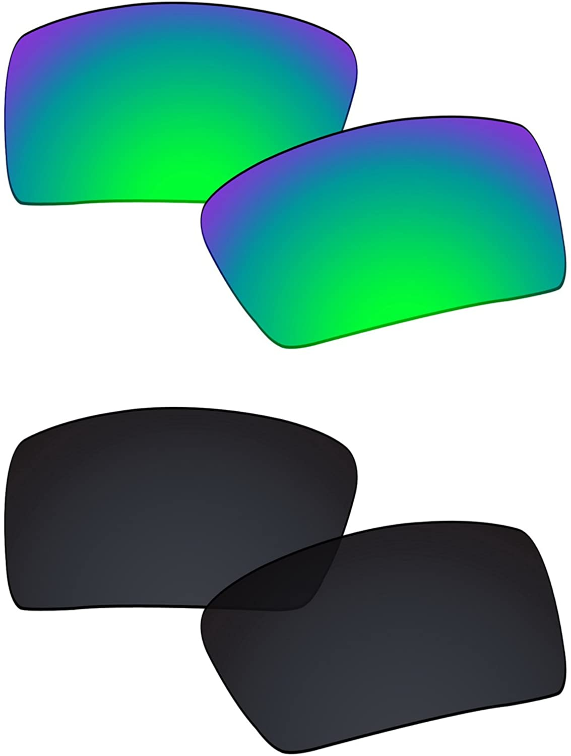 Galvanic Replacement Lenses for Oakley Eyepatch 2 OO9136 Sunglasses - Multiple Choices