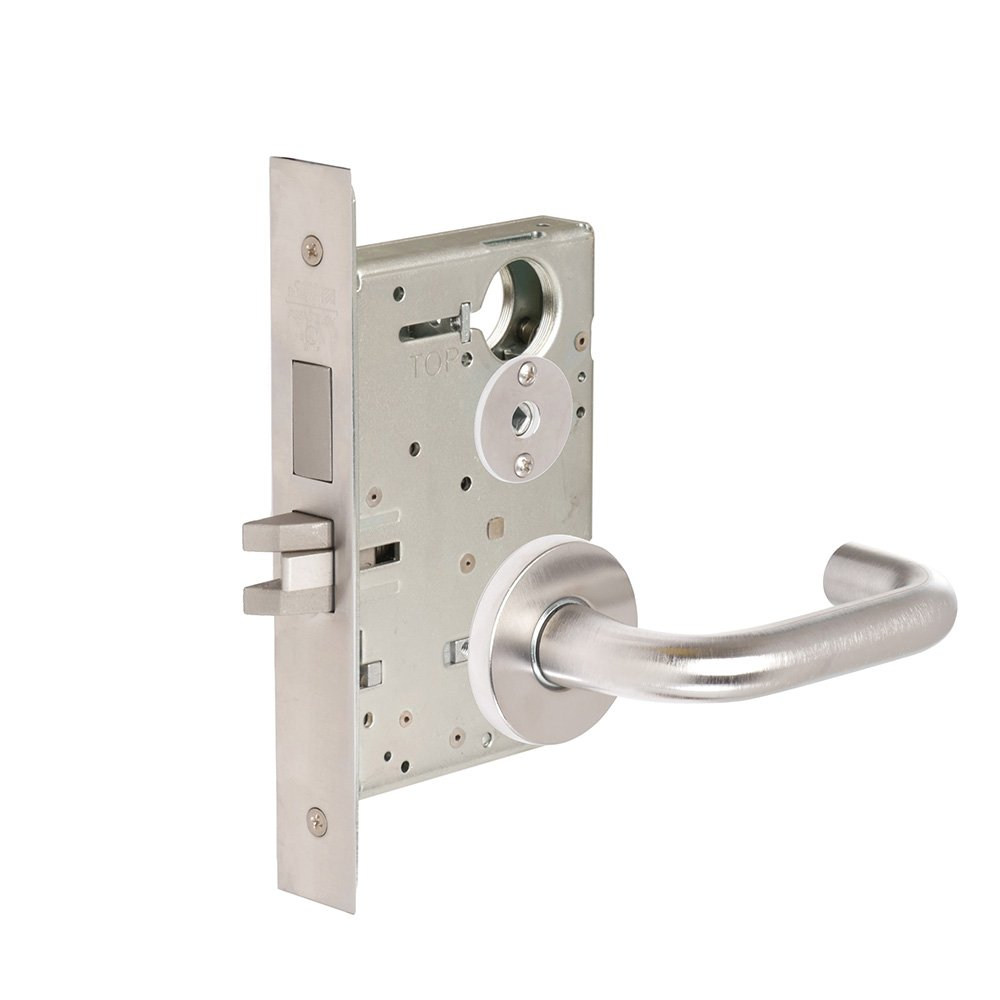 CORBINRUSSWIN ML2020-LWA-626 626 Satin Chrome, Lever LWA Lustra, Privacy/Bed/Bath, Steel; Stainless Steel; Brass