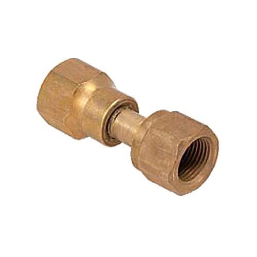 Krome Dispense- C295-36 Draft Beer Nitrogen to CO2 Regulator Adapter; Gold Plated Finish (Pack of 36)