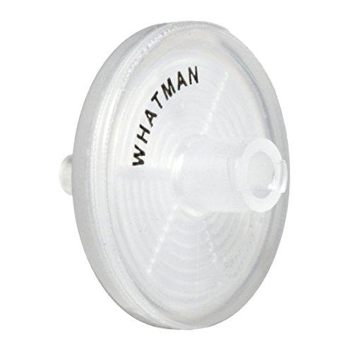 Whatman 6787-2520 Polypropylene Puradisc 25 Syringe Filter, 0.3psi Wet Burst, GF/F Grade, 0.7 Micron (Pack of 1000)