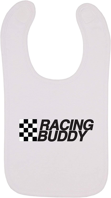 Kinacle Racing Buddy Baby Bib, 0-24 Months