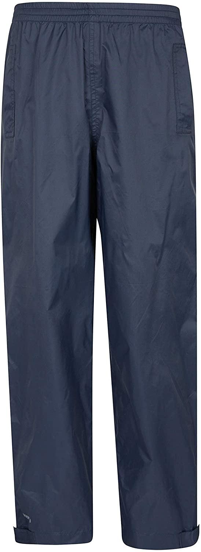 Mountain Warehouse Spray Kids Waterproof Rain Pants -for Boys & Girls