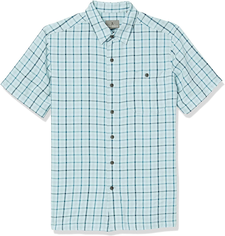 Royal Robbins Men's Mojave Pucker Plaid Shirt