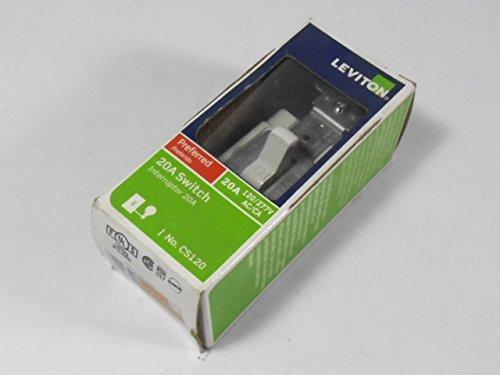 Leviton CS120 Toggle Switch 20A 120/277VAC
