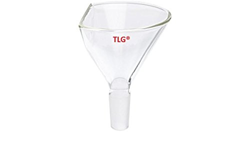 CHEM SCIENCE INC CS-F0181975 Funnel, Powder, 60° Side Angle, Top Dia 75 mm, 19/22 Joint