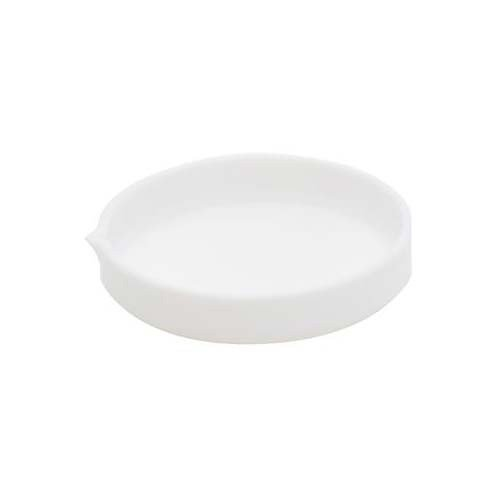 Dynalon 1211A22EA 355314-0180 PTFE Low Form Evaporating Dish with Smooth Internal Finish, 180 ml