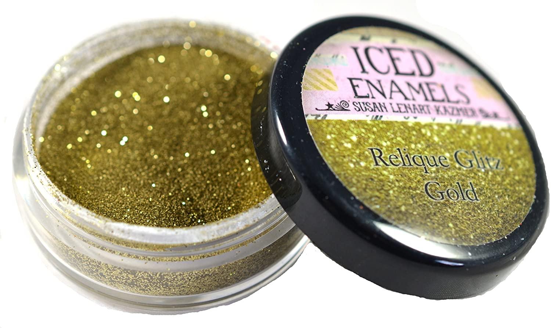 ICE Resin ICED Enamels, Glitz Gold