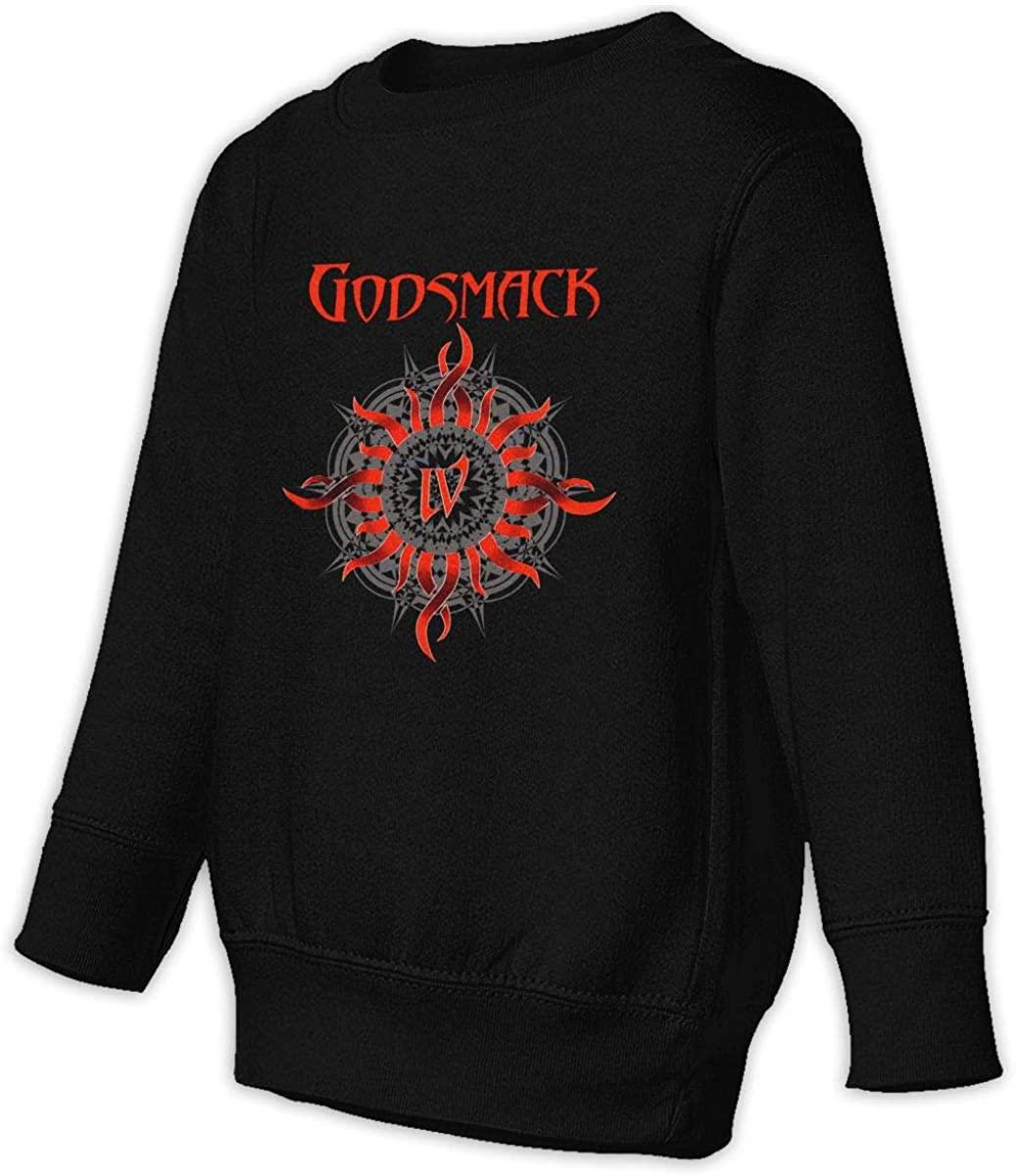 1836 Godsmack Unisex Sweatshirt Youth Boy and Girls Pullover Sweatshirt 3t Black