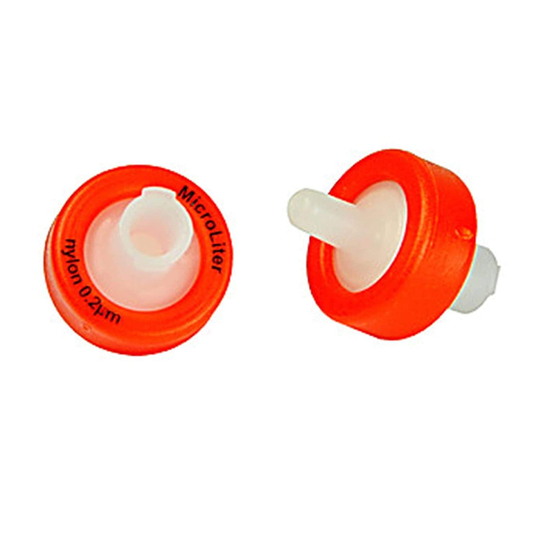 Microliter F30-2020-1GF Syringe Filter with Prefilter, Nylon, 0.20µm, 30 mm (Pack of 100)