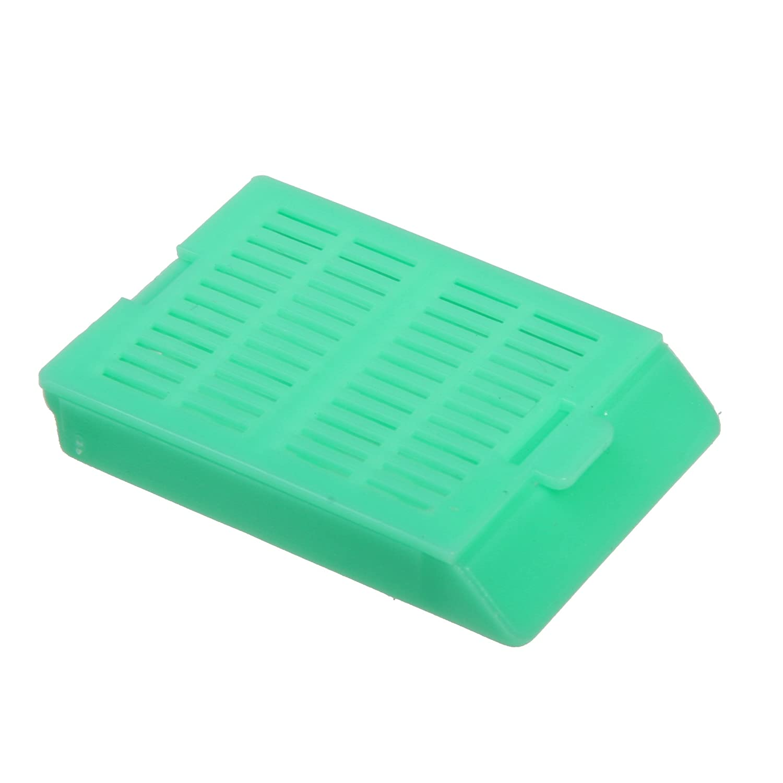 Bio Plas 6059 Aqua Acetyl Plastic Histo Plas Uni-Capsette Tissue Embedding Cassettes with Detachable Lid (Pack of 500)