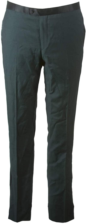 J. LINDEBERG Men's Porter Fresco Tuxedo Pants, Green, Sz 50