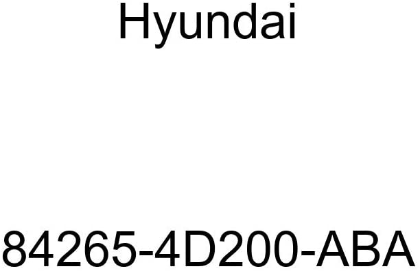 Genuine Hyundai 84265-4D200-ABA Floor Carpet Assembly