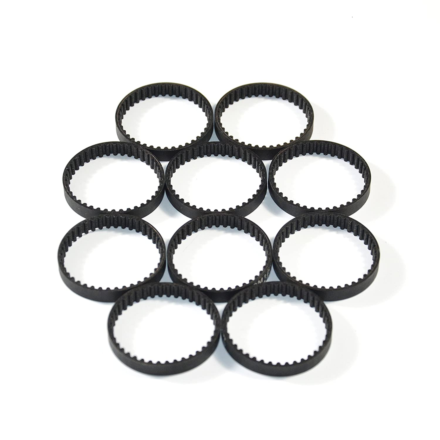 RobotDigg 194-2gt-3.5 Endless GT2 Belt 194mm Length 97 Teeth 2GT Synchronous Belt 2mm Pitch 3.5mm Width GT2 Closed Loop Timing Belt Pack of 10pcs