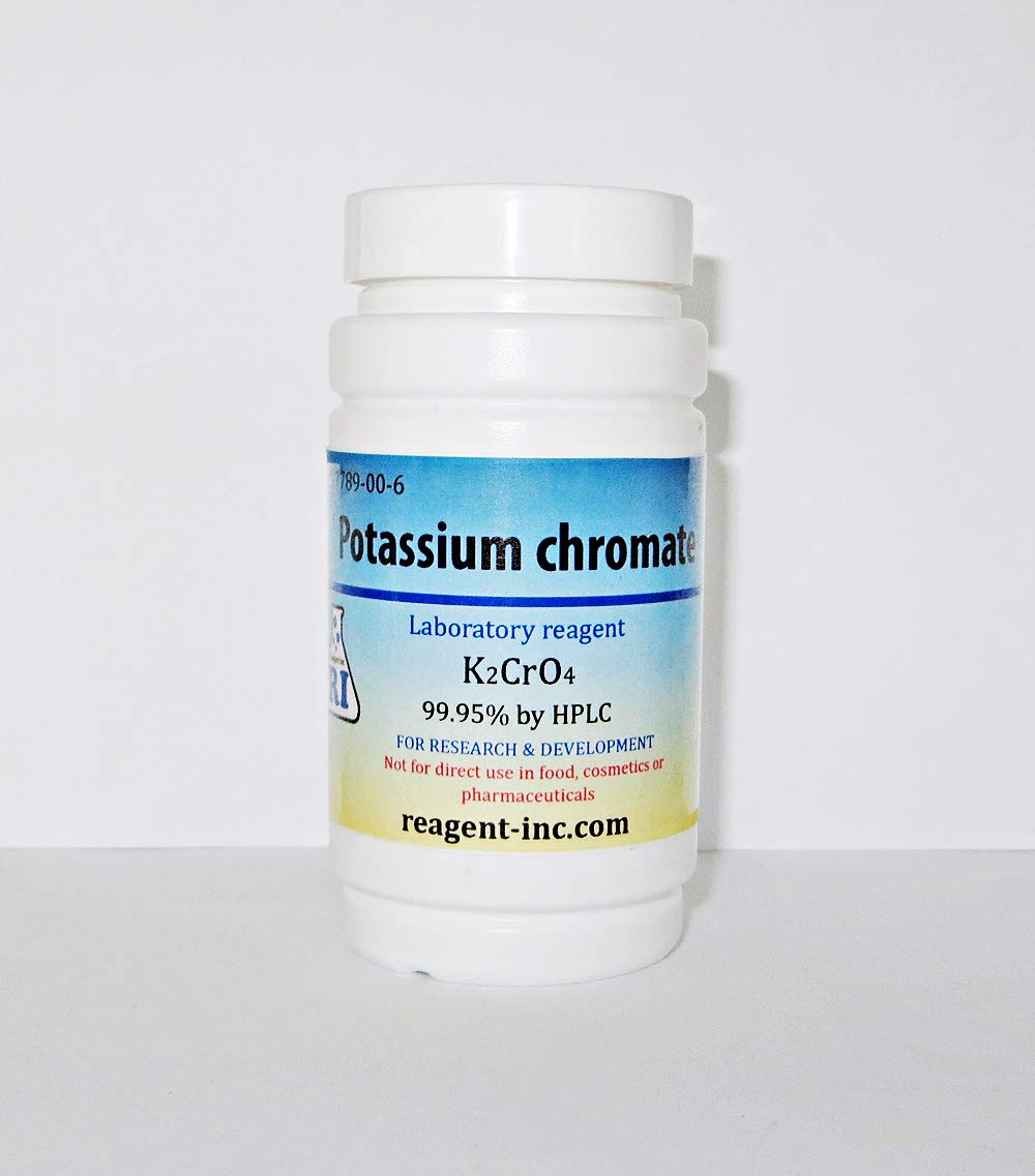Potassium Chromate, 99.95%, Analytical Reagent (ACS), 150 g