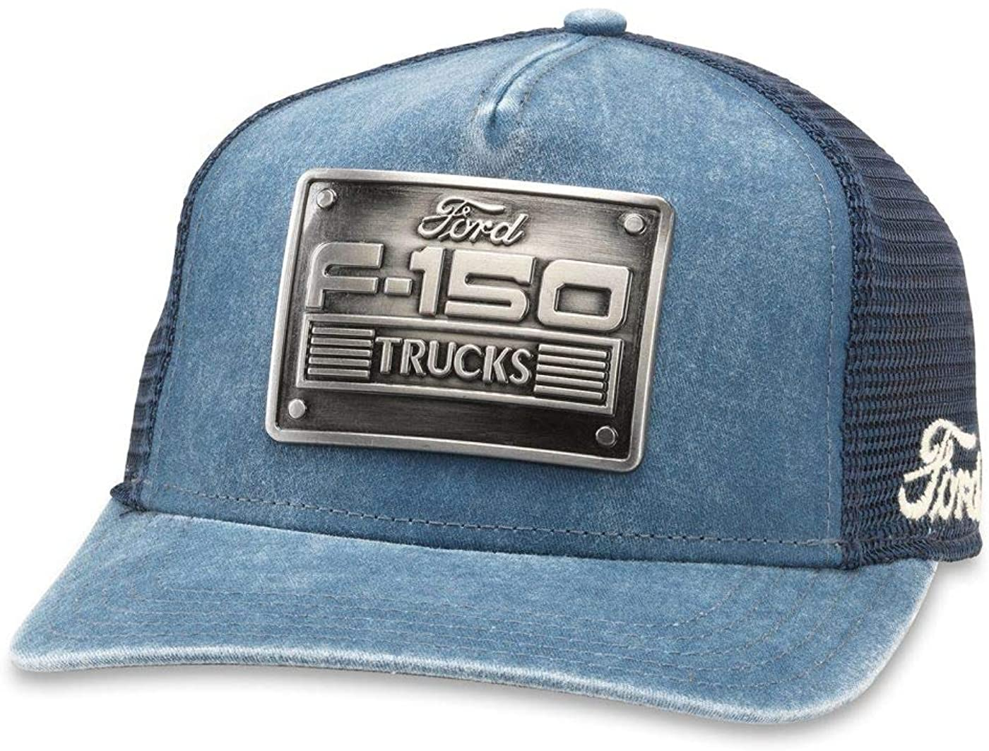Ford - Mens Metal Head Snapback Hat