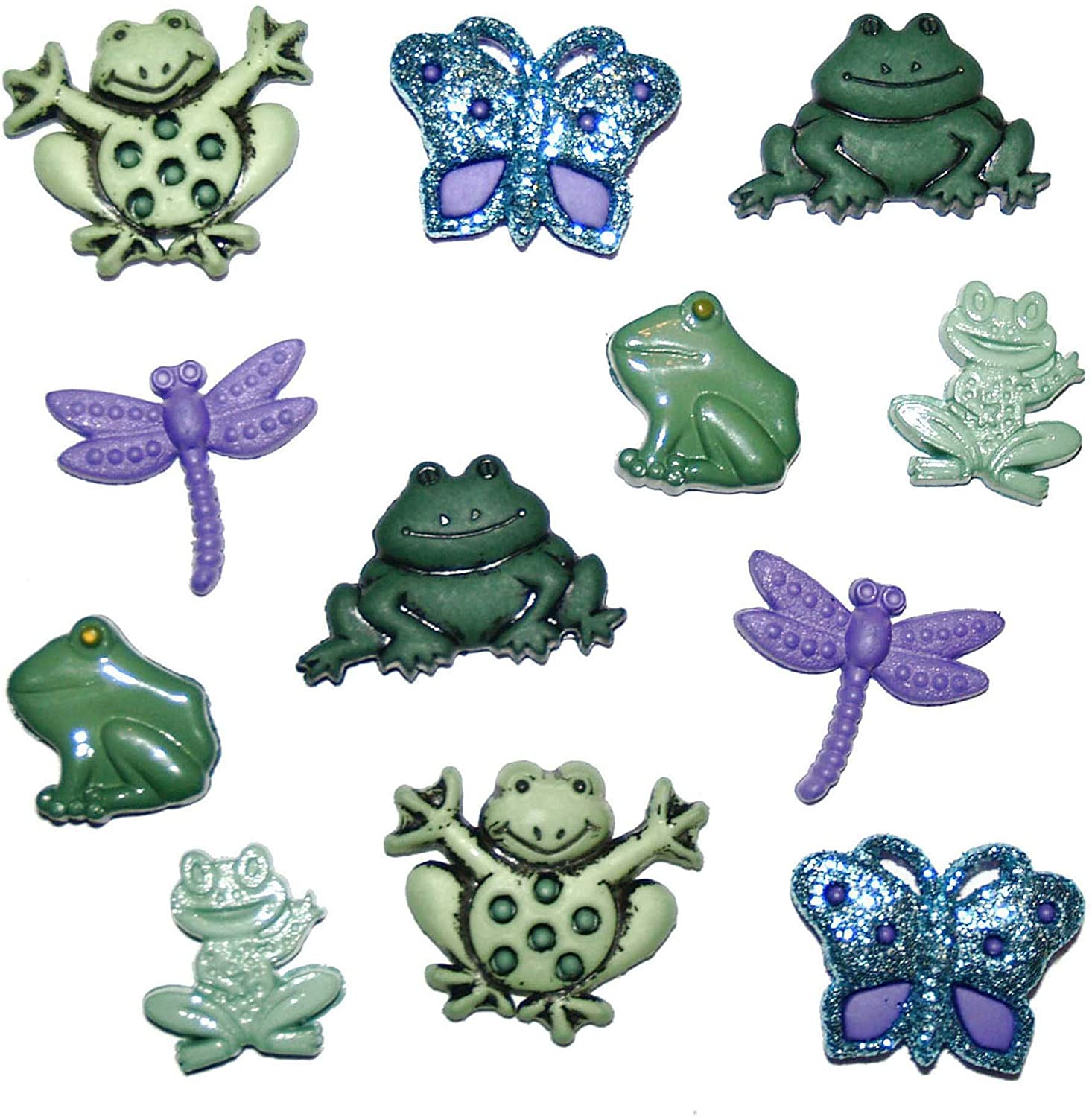 Jesse James (1-Pack) Dress It Up Buttons Nature Collection #0592 At The Pond 0592-1P