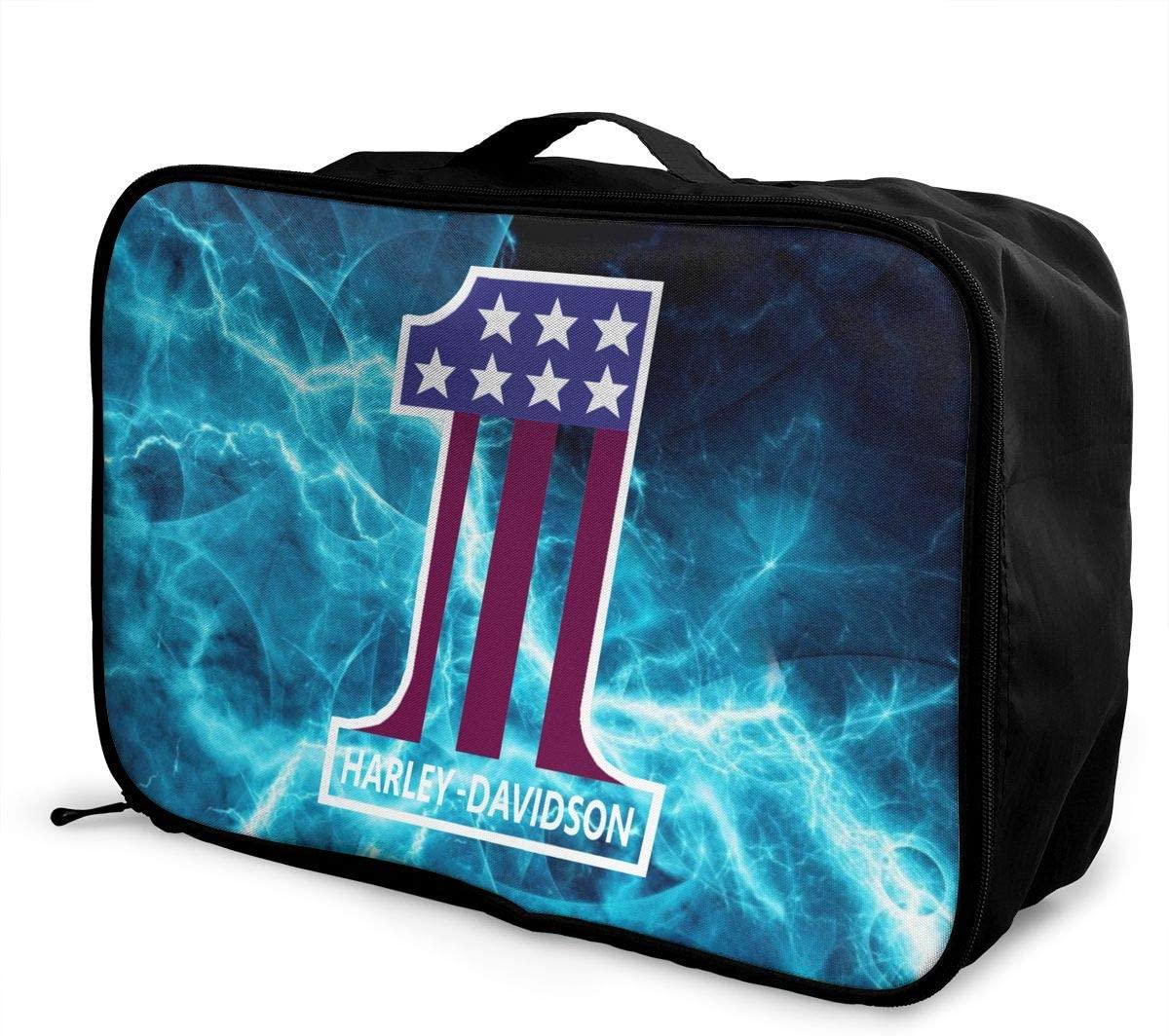 Travel Luggage Bag Harley Davidson Lightweight Super Large Capacity Hand Luggage Bag Weekend Bag Overnight Carry Bag