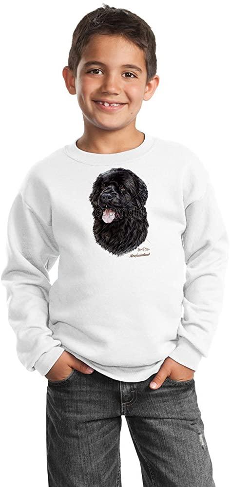 Animal Den Newfoundland Youth Sweatshirt by Robert May