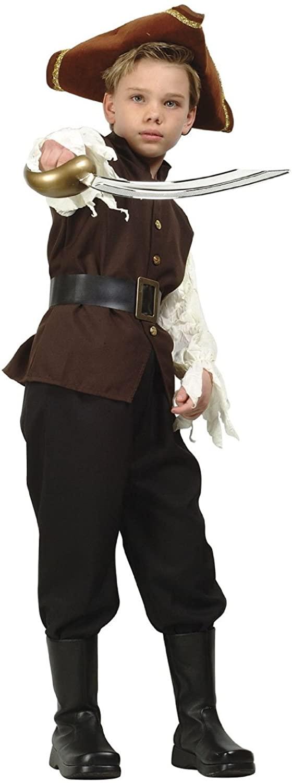RG Costumes Caribbean Pirate Boy