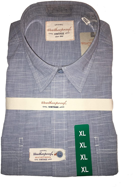 Weatherproof Vintage Mens Short Sleeve Shirt