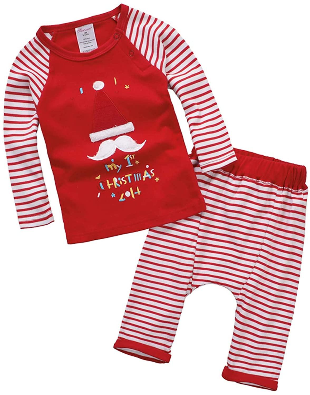 Baby Pajamas Baby Girls Boys Pajama Sets 2 Piece Pjs Set New Years Sleepwear 1-3t 2020 New Version