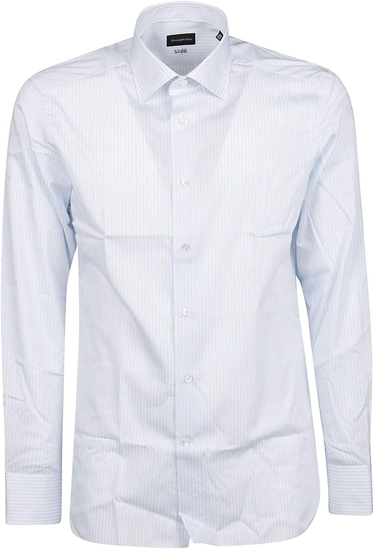 Z Zegna Luxury Fashion Man 9MS0JI701236 White Cotton Shirt | Spring Summer 20